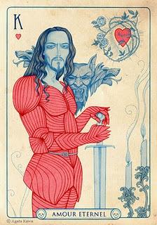 """Agata Kawa """"Le Roi de Coeur - Amour Eternel"""" - Looks like Vlad to me"""