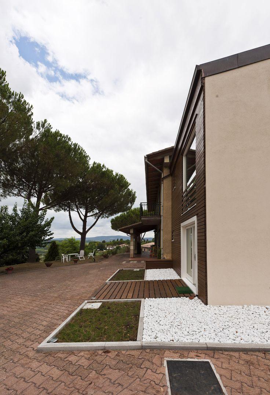13 best casa rubner ampliamento rubner di una case esistente a poggibonsi si images on - Ampliamento casa in legno ...