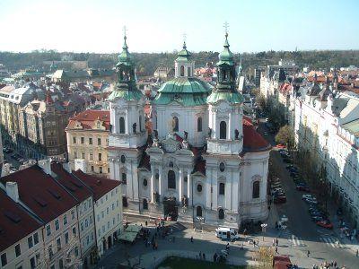 Photo Tour of Old Town Prague: St. Nicholas Church Old Town Prague