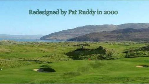 A very scenic golf course at Portsalon Donegal