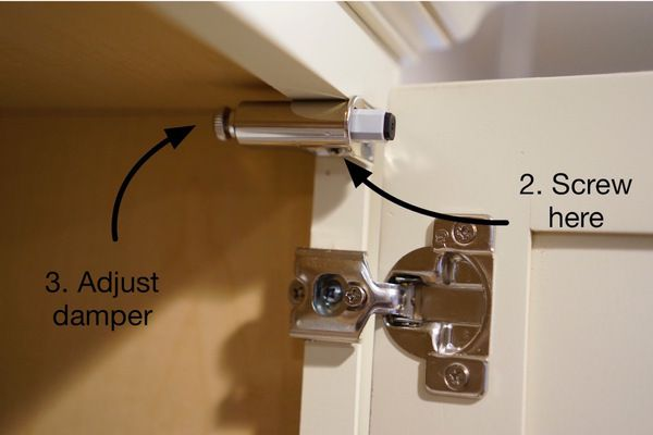 Retro Fit Soft Close Cabinet How To Install The Hardware