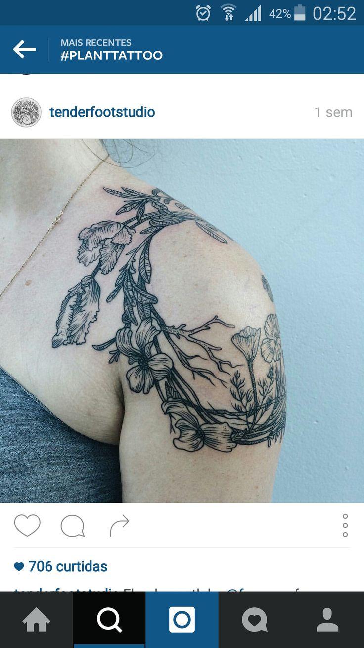 Schulter tattoos f 252 r frauen - Farben Kranz Tattoo Schulter Tattoos F R Frauen Blumenkr Nze Traum Tattoos S E Tattoos Papageien Der K Rper Drucktechnik