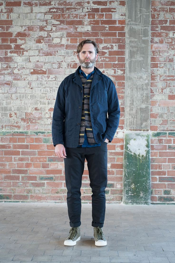 Navy cotton twill ok42 jacket by post overalls the for Bureau belfast