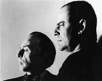 George Balachine and Lincoln Kirstein