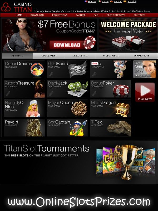 Casino Titan Offers Free Money Casino Titan Offers Free Money