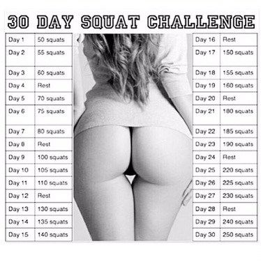 Incredible Squat Challenge
