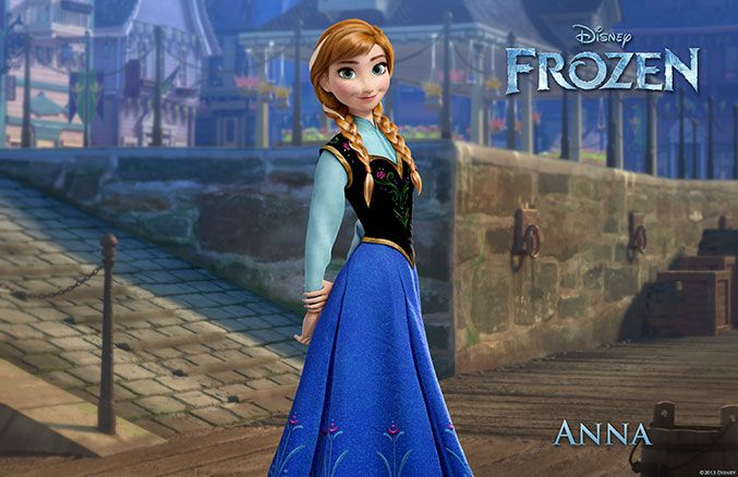 When her sister Elsa accidentally unleashes a magical secret that locks the kingdom of Arendelle in an eternal winter, Anna embarks on a dangerous adventure to make things right. Armed with only her fearlessness, a never-give-up attitude and her faith in others, Anna is determined to save both her kingdom and her family.