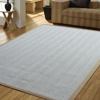 Shop for Powerloom Pet Sahara/White Sisal Wool Herringbone Rug (8' X 10'). Get…