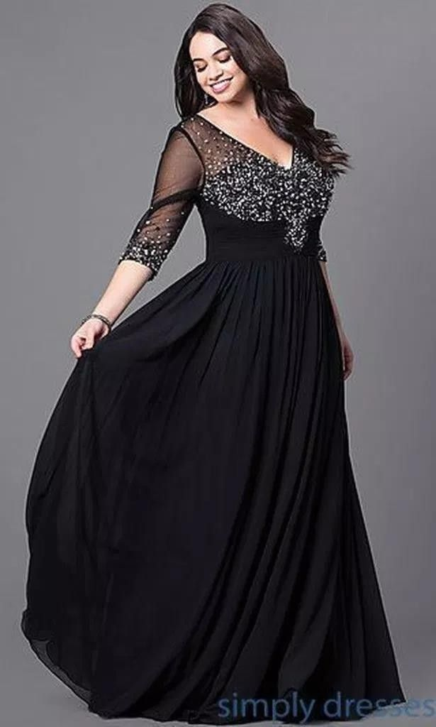 33a41f9a259 32 atemberaubende Plus Size Abendkleid Ideen  abendkleid  atemberaubende   ideen
