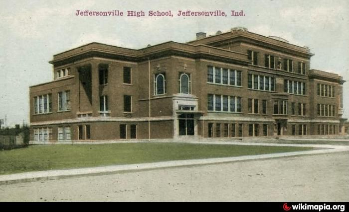 Jeff High School, Historic Jeffersonville, IN