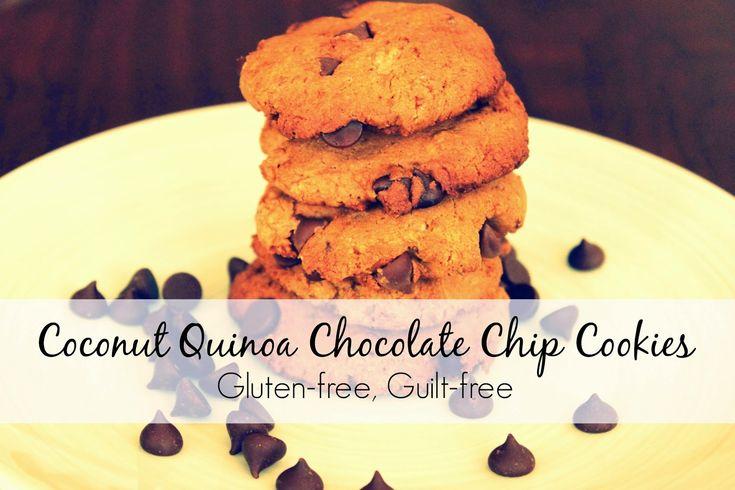coconut quinoa chocolate chip cookies gluten-free