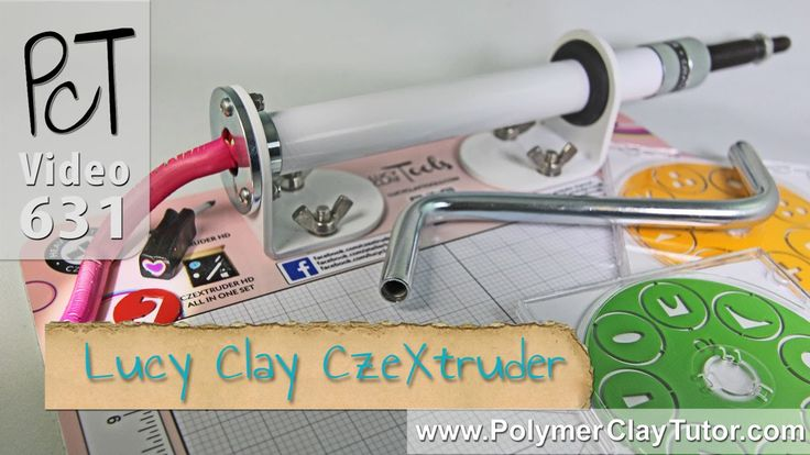 Lucy Clay CzeXtruder XXL HD Review (Polymer Clay Extruder