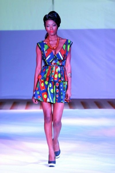 2012 Ghana Fashion Design Week Orange Culture African Woman Fashion Pinterest