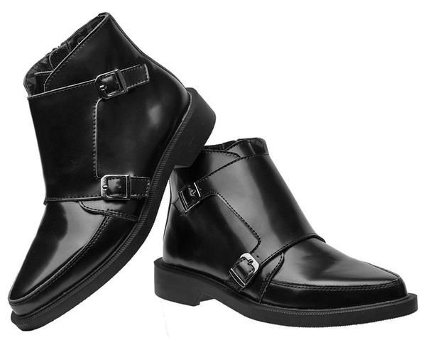 Buy the Black Double Buckle Jam Boot Style #A9118 from the official T.U.K. Shoe store. Get fast shipping and the best selection anywhere!