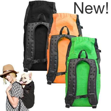 Take your best friend with you on all of life's adventures! The K9 Sport Sack is the original forward facing dog carrier backpack that doubles as a small to medium-sized dog airline approved pet carrier. It's super safe for your pup, built to last, and guaranteed to turn heads!
