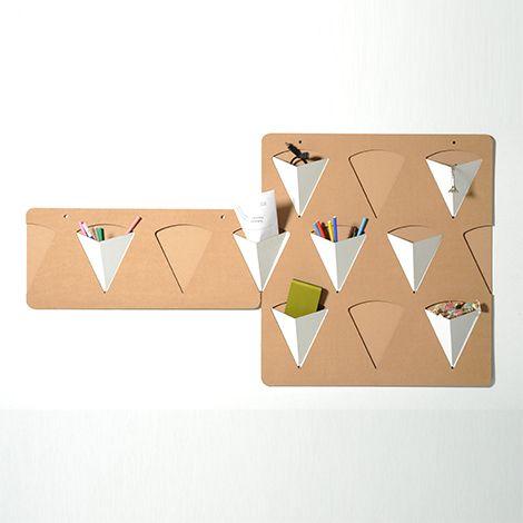 Portaoggetti da parete in cartone | Pigreco | Eco and You