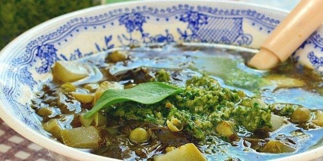 Суп из кабачка и щавеля рецепт с фото