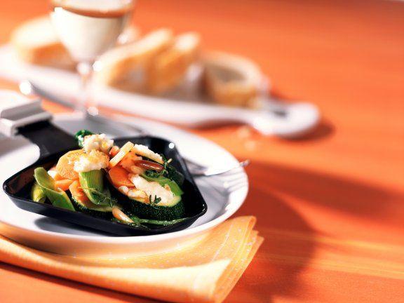 Nicht nur für Gemüse-Fans: Gemüse-Raclette  