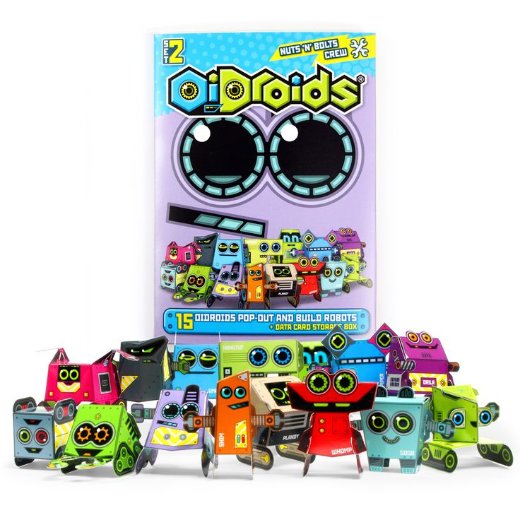 OiDroids Nuts 'n' Bolts Crew Set 2