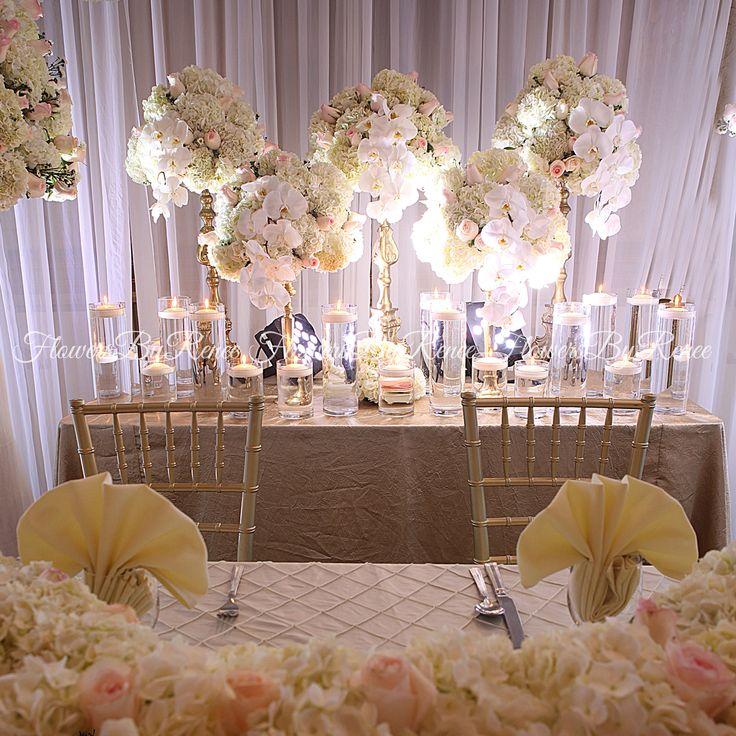 wedding reception head tables | Head table wedding ...  |Outdoor Wedding Reception Head Table