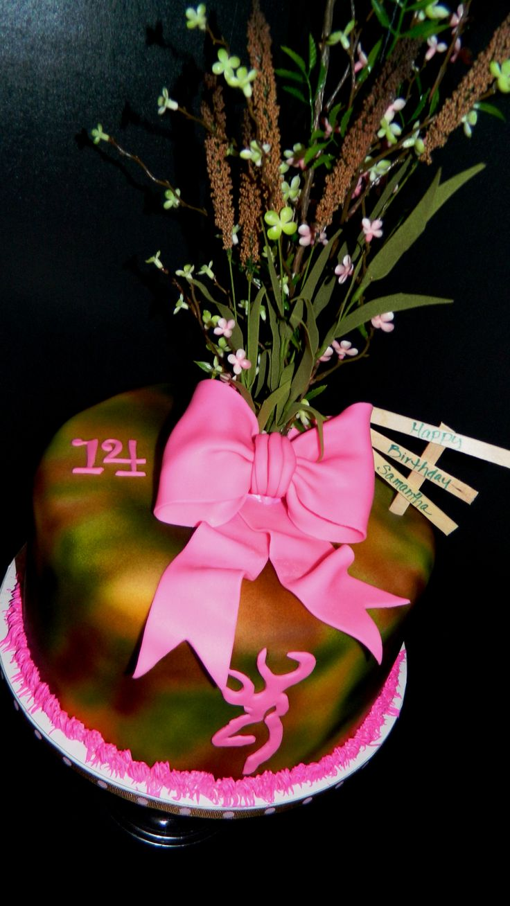 best 25 pink camo birthday ideas on pinterest pink camo party pink camo birthday cake