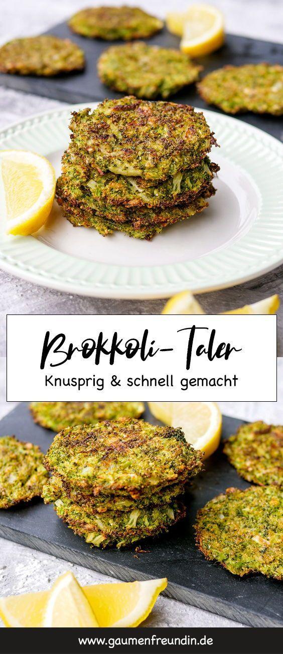 Gesunder und knuspriger Brokkoli-Taler aus dem Ofen – ein schneller und einfacher Weg, um …   – Rezepte | Kochen | Gruppenboard von Textwelle