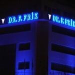 Dr. F. Frik İlaç firması için yapılan tabela çalışması. Kutu harf led çatı tabelası.  Tabela çeşitleri ve daha fazla tabela örnekleri için http://www.boranreklam.com/tabela/ blog sayfamızı ziyaret ediniz.