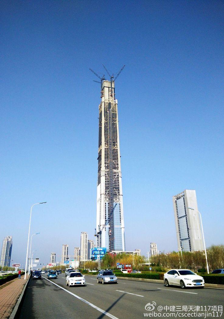 TIANJIN   Goldin Finance 117   597m   1957ft   117 fl   U/C - Página 91 - SkyscraperCity