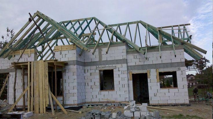 Więźba dachowa Rubin  #dom #dach #projekt