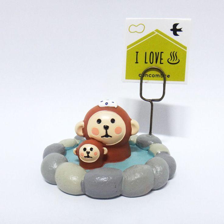 Concombre DECOLE Japan Cute Lovely Kawaii Figure Spa Monkey #ConcombrebyDECOLE