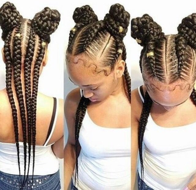 Hairstyles For Black Little Girls 23 Best Hairstyles Images On Pinterest  Black Girls Hairstyles