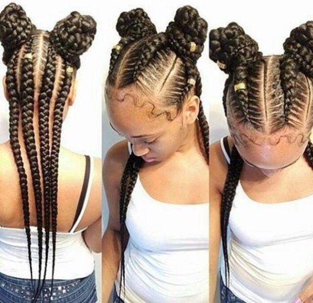 Cute Little Girl Ponytail Hairstyles Black Stylesummer
