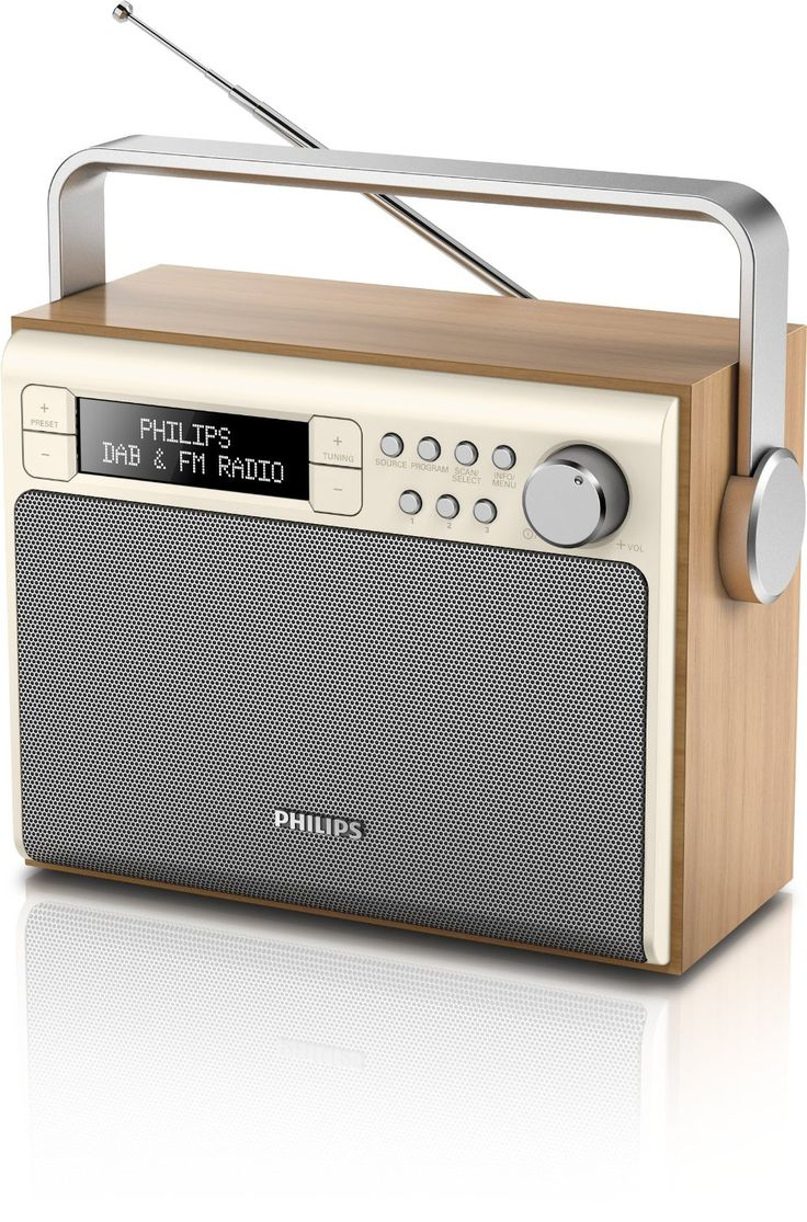 Philips AE5020/12 - Radio (3 W, pantalla LCD, DAB+), marrón - Electrónica - Amazon.es