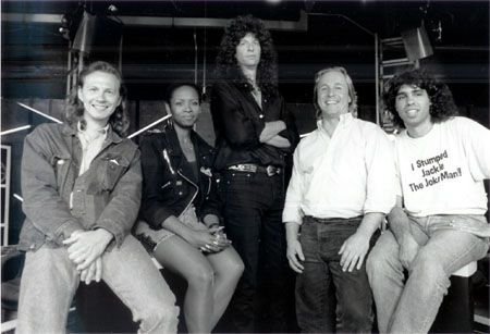 Howard Stern, Robin Quivers, Fred Norris, Gary Dell'Abate & Jackie Martling