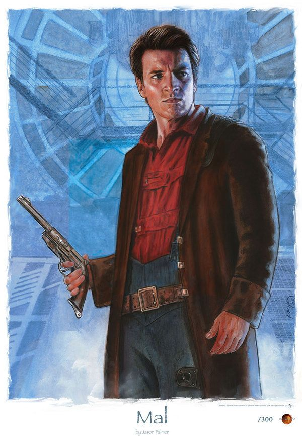 Captain Malcolm Reynolds from Firefly