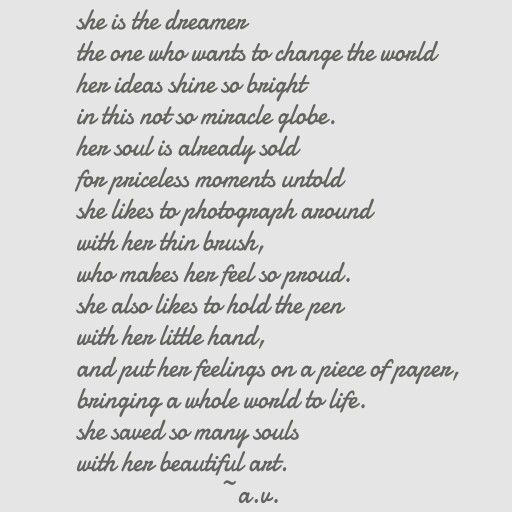 #5 poem by A.V. from alexandrasparadise.blogspot.com