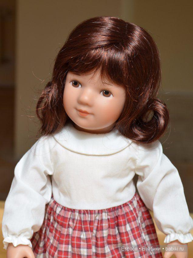 Элея, Kathe Kruse, Волосы винного цвета / Коллекционные куклы (винил) / Шопик. Продать купить куклу / Бэйбики. Куклы фото. Одежда для кукол