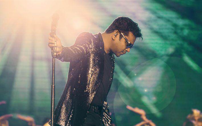 Descargar fondos de pantalla 4k, AR Rahman, cantante india, Bollywood
