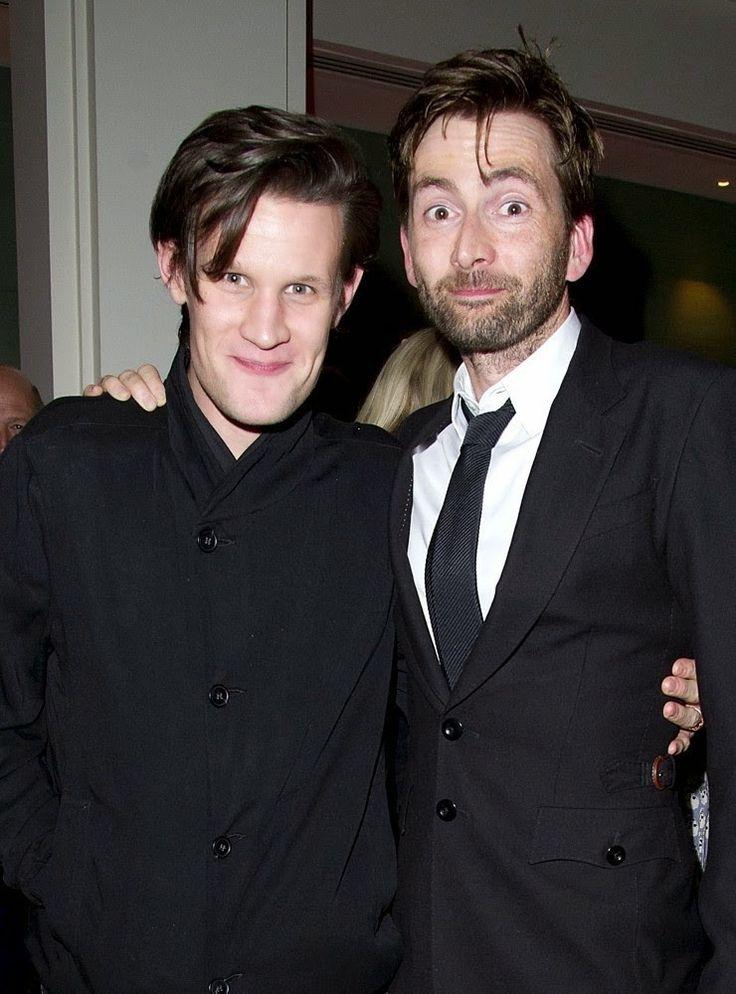 Matt Smith and David Tennant☺