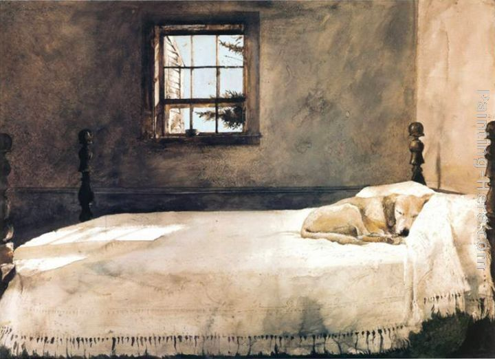 andrew whyett his master 39 s bed favorite painters pinterest