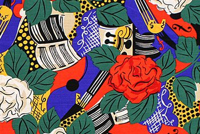オートクチュールを支えた、テキスタイルデザイナー「ラウル・デュフィ展」有名デザイナーのドレスも展示   ニュース - ファッションプレス