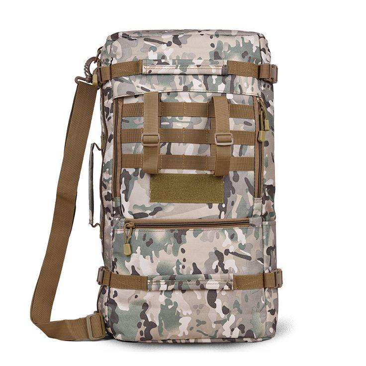 40L Military Tactical Backpack Hiking Camping Daypack Shoulder Bag Men's Hiking Rucksack Back Pack Mochila Outdoor Bags #Affiliate