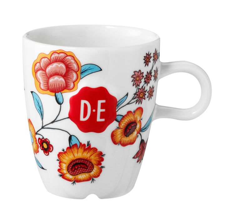D.E Hylper koffiekop - multicolor #coffee #cup #HylperHeritage #DouweEgberts