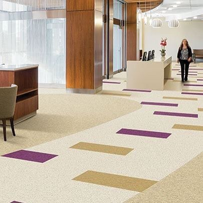 #FloorFriday iQ Granits homogeneous composition means that the look you love runs through the entire tile and its iQ construction means that itll last the life of the floor without waxing or stripping. #linkinbio  #design #designinspiration #flooring #interiordesign #commercialdesign #floors #tarkett #floors