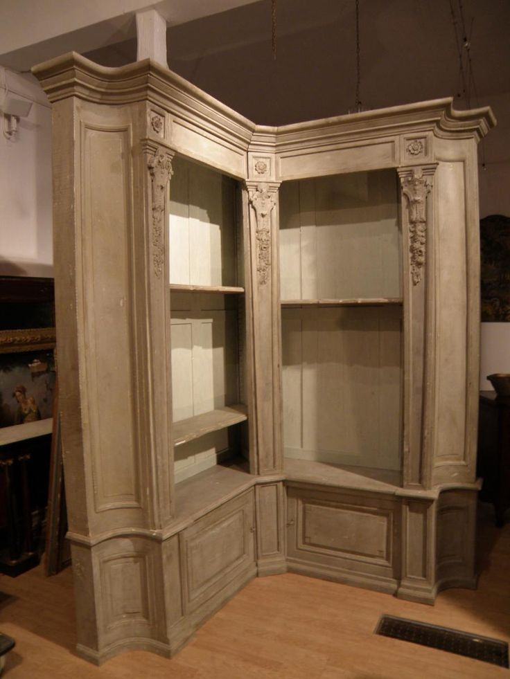 1000 id es sur le th me porte d 39 tag re d 39 angle sur pinterest ancie - Bibliotheque d angle blanche ...