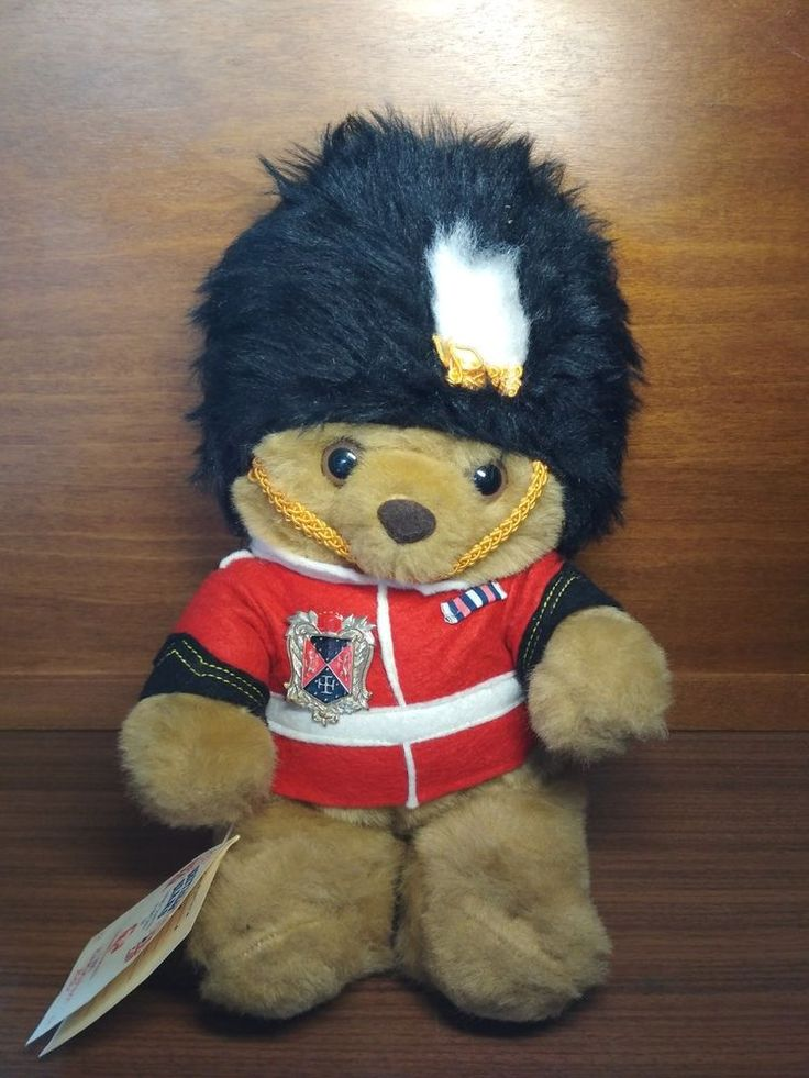 Collectible British Bears Guardsman Handcrafted in Britain by Sweet Dreams