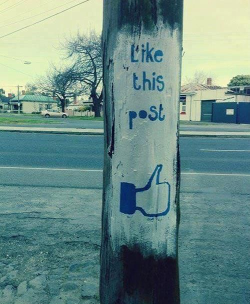 Like This Post facebook like post socialmedia
