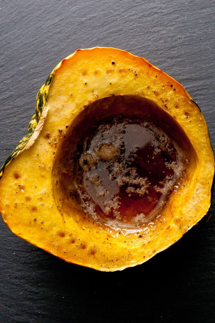 Quick And Easy Microwave Acorn Squash With Butter And