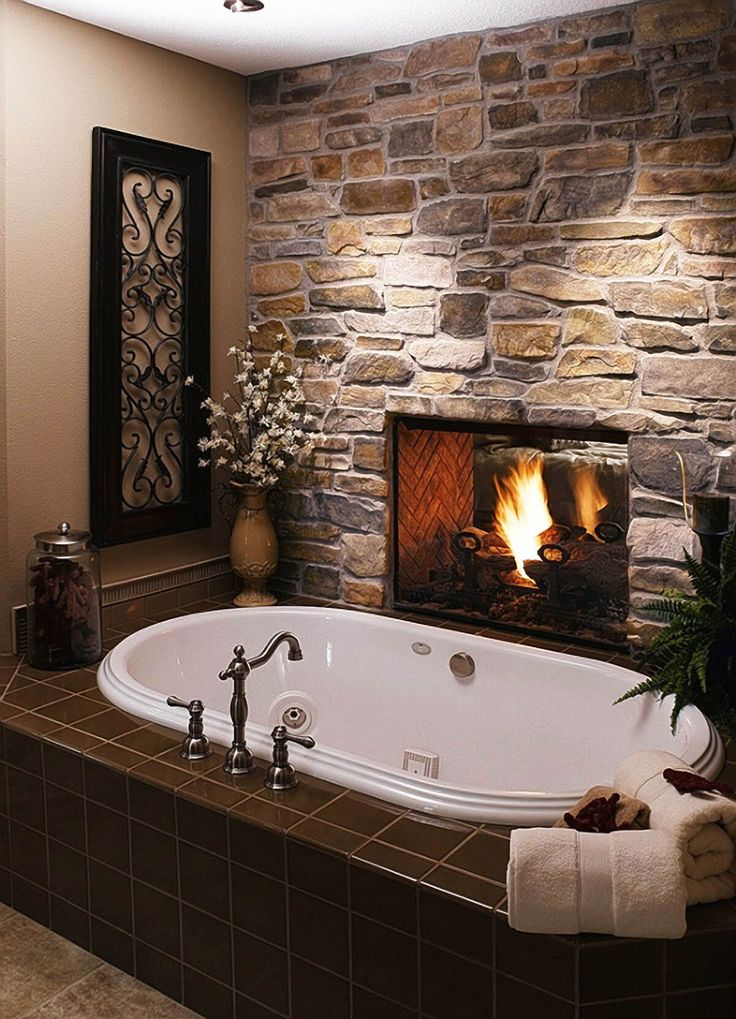 A Bath by the Fire