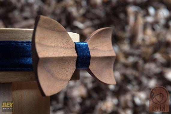 wooden bow tie от brikshop на Etsy